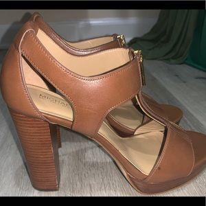 Michael Kors Berkley T-Strap Platform Dress Sandal